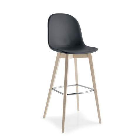 CB/1673-SK Academy W Bar Stool, Connubia by Calligaris Italy