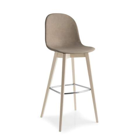 CB/1673-V Academy W Bar Stool, Connubia by Calligaris Italy