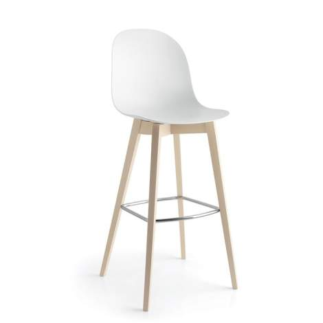 CB/1673 Academy W Bar Stool, Connubia by Calligaris Italy