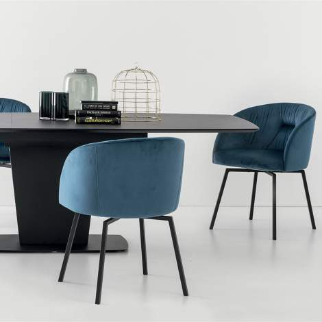 CB/4783 Athos Dining Table, Connubia by Calligaris Italy
