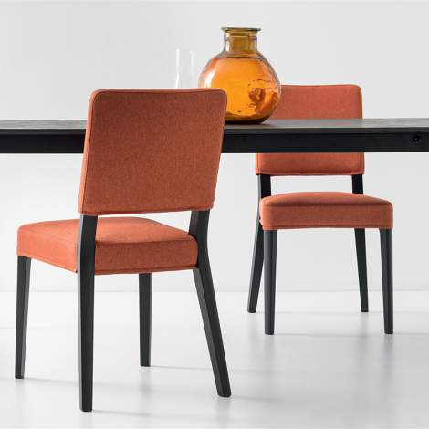 CB/1963-C Aurora Dining Chair, Connubia by Calligaris Italy