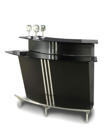 Broadway Contemporary Bar in Black