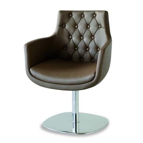 Bianca - 02 C Office Chair, Airnova Italy