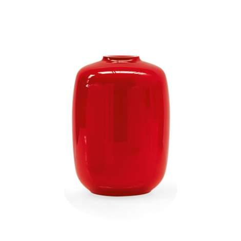 CS/7111-A Blanco Glass Vase, Calligaris Italy