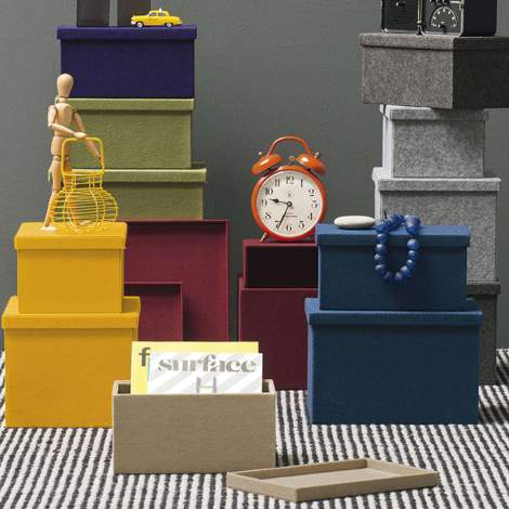 CS/7138 Clever Storage Boxes, Calligaris Italy