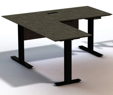 "Oslo 63"" Electronic Standing Desk, Unique Furniture"