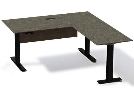 "Oslo 71"" Electronic Standing Desk, Unique Furniture"