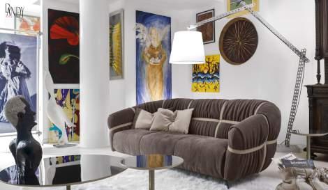 Crossover Sofa, Gamma International Italy