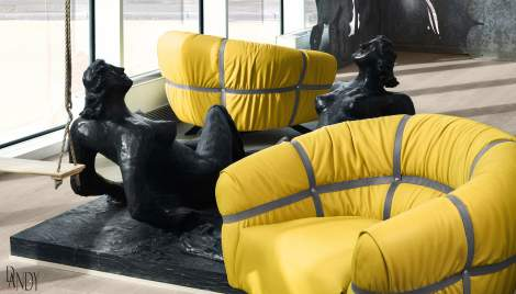 Crossover Chair, Gamma International Italy