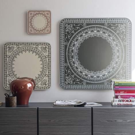 CS/5093-M Damasco Mirror, Calligaris Italy