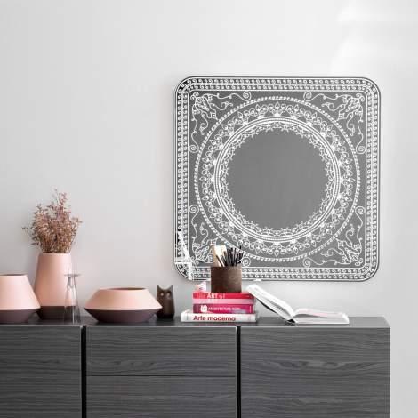 CS/5093-G Damasco Mirror, Calligaris Italy