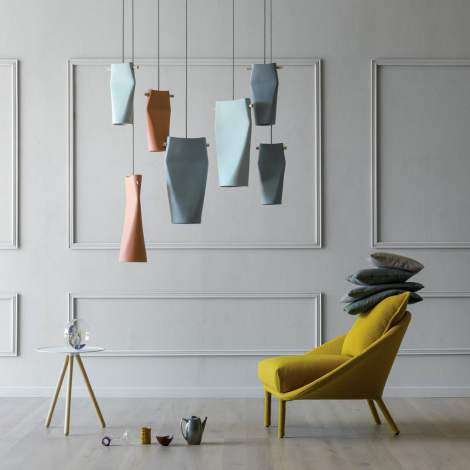 Dent Ceiling Lamp, Miniforms Italy