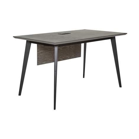 "Oslo 52"" Desk with USB & Power Grommet, Unique Furniture"