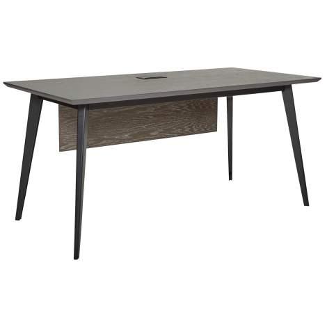 "Oslo 63"" Desk with USB & Power Grommet, Unique Furniture"