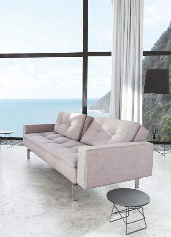 Dublexo Deluxe Sofa Sleeper with Styletto Arms, Innovation