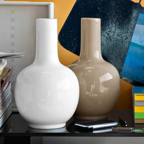 CS/7117 Evan Ceramic Vase, Calligaris Italy