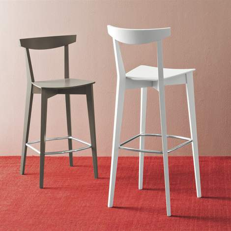 CB/1140 Evergreen Counter Stool, Connubia by Calligaris Italy