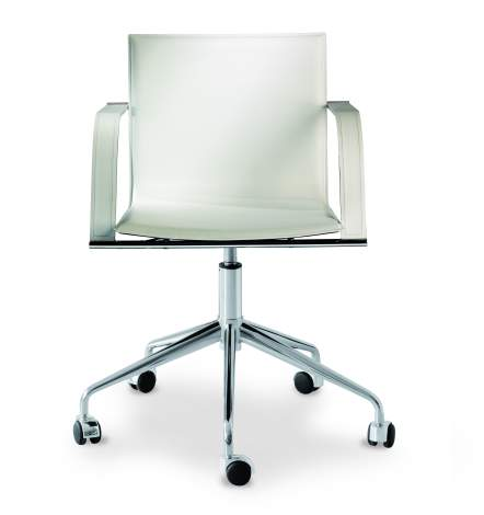 Galena - R Office Chair With Arms, Airnova Italy