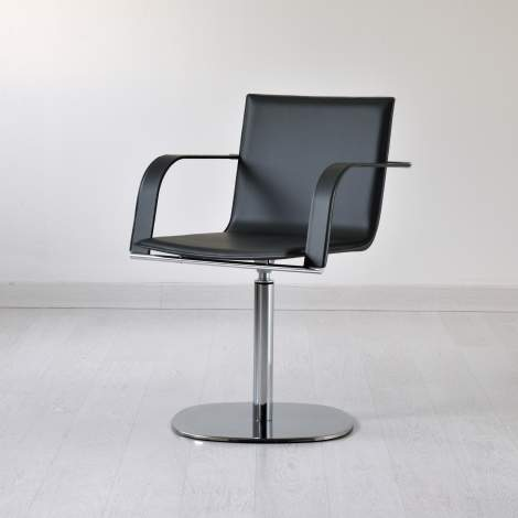 Galena - S Office Chair With Arms, Airnova Italy