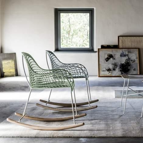 Guapa DNB Rocking Lounge Chair, Midj Italy
