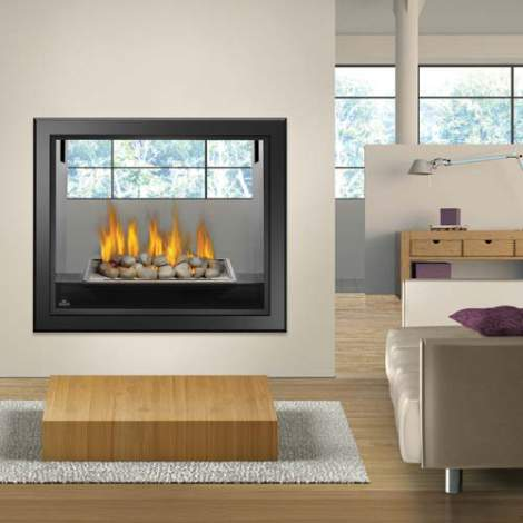 HD81 See Thru Fireplace by Napoleon
