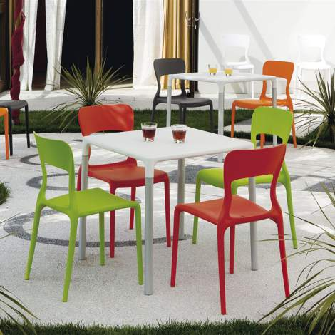 CB/1312 Helios Chair, Connubia by Calligaris Italy