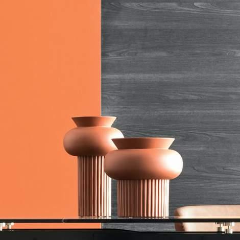 7189-B Ionico Ceramic Vase, Calligaris Italy