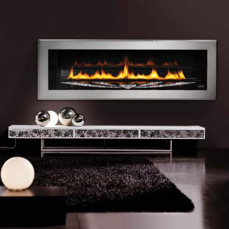 LHD50SS Swarovski Fireplace by Napoleon