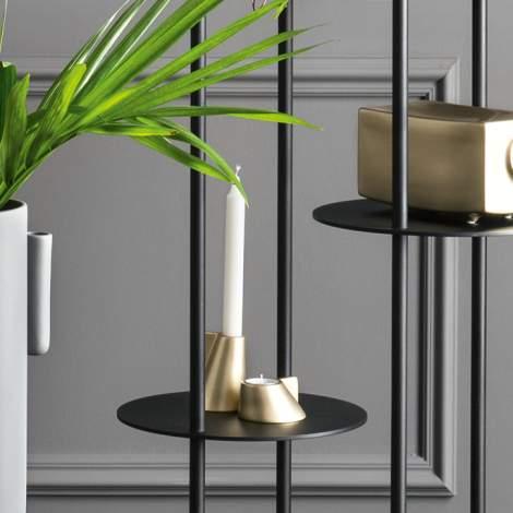 7191 Lino Ceramic Candle Holder, Calligaris Italy