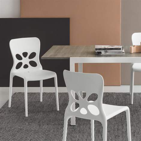 CB/1313 Neon Dining Chair, Connubia by Calligaris Italy