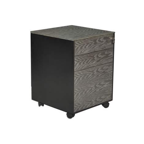Oslo 3 Drawer Mobile File Cabinet, Unique Furniture