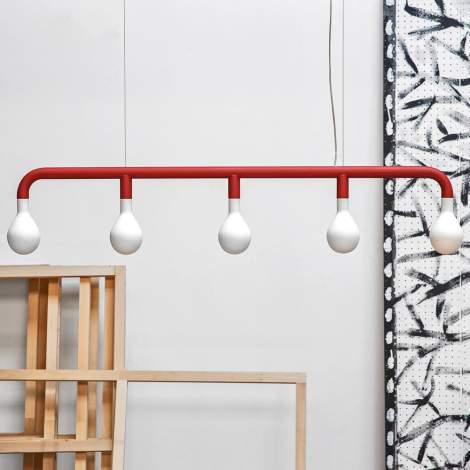 CS/8024-S Pom Pom Suspension Lamp, Calligaris Italy