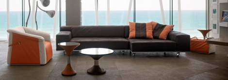 Roller Sectional, Gamma International Italy