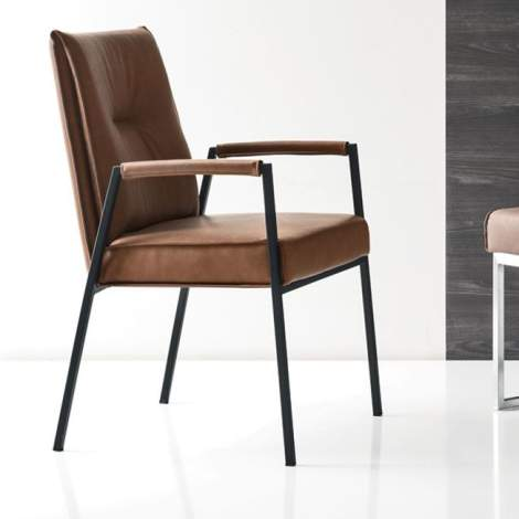CS/1907-V Romy Chair With Arms, Calligaris Italy
