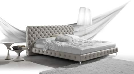 Aston Night Bed, Gamma Arredamenti Italy