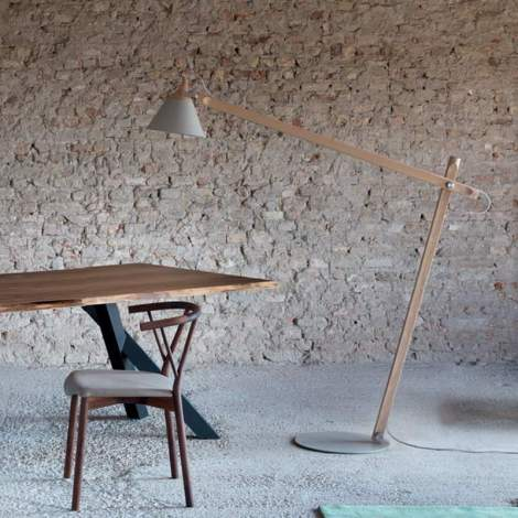 Slope Floor Lamp, Miniforms Italy