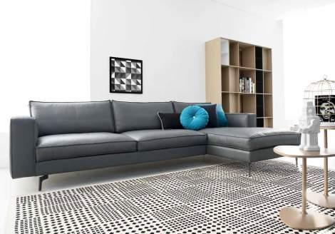 Square Sectional Sofa CS/3371, Calligaris Italy