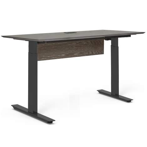 """Oslo 63"""" Electric Standing Desk, Unique Furniture"""