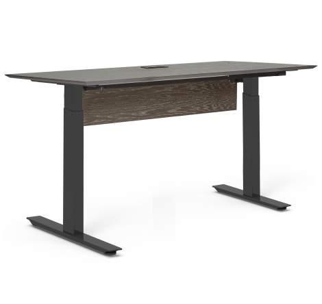 """Oslo 71"""" Electric Standing Desk, Unique Furniture"""