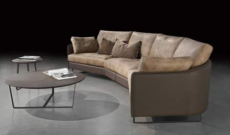 Swing Curved Sectional, Gamma Arredamenti Italy