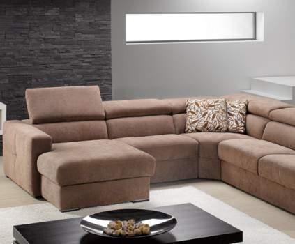 Themis Fabric Sectional Sofa, ROM Belgium
