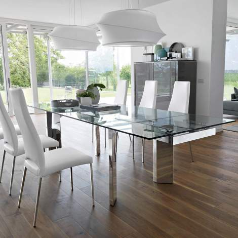 CS/4057-R 180 Tower Dining Table, Calligaris Italy