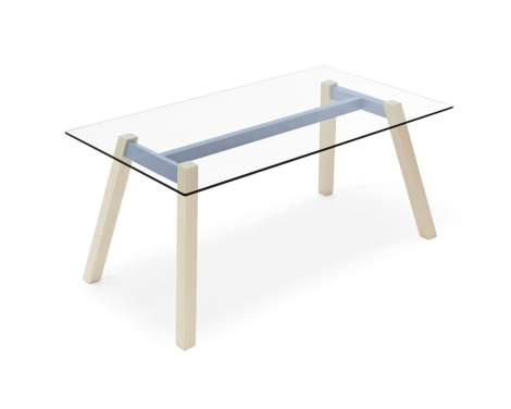CB/4781-RC T-Table Dining Table, Connubia by Calligaris Italy