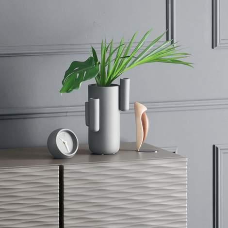 7194 Tubini Ceramic Vase, Calligaris Italy