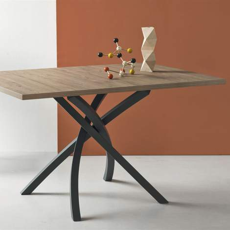 CB/4782-RC Twister Dining Table, Connubia by Calligaris Italy