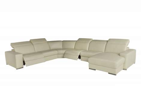 Mosto Sectional with Recliners, Chateau D'ax