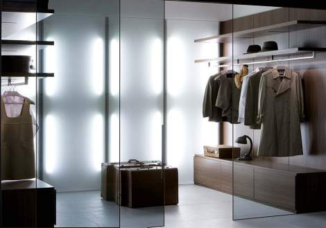 Vista Walk-In Closet #2, Pianca Italy