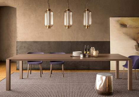 Woody Dining Table, Pianca Italy