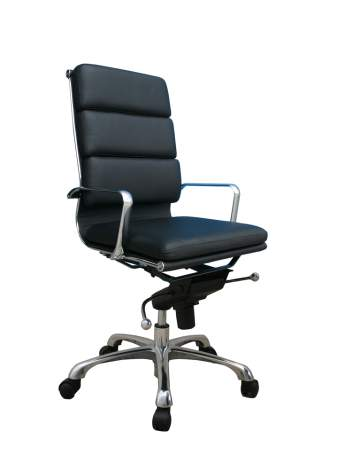Plush High Back Office Chair