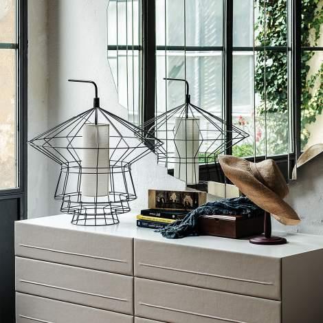 Zeppelin Table Lamp, Cattelan Italia